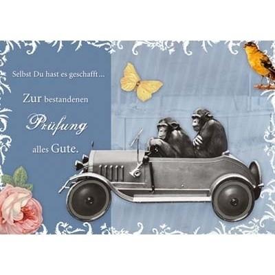 Postkarte Prüfung, DIN C6
