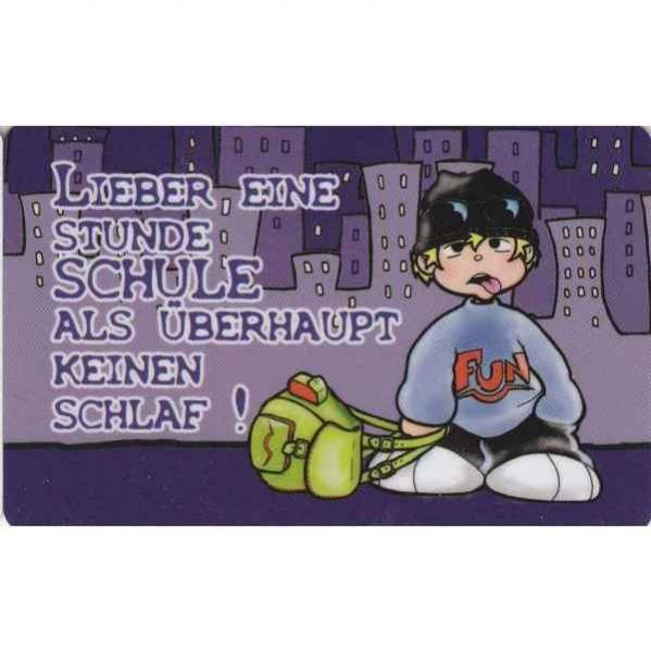 Scheckkarte, Midi Quer 7 x 8,5