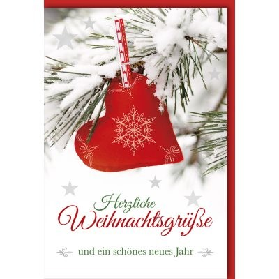 Klappkarte Weihnachten, DIN C6