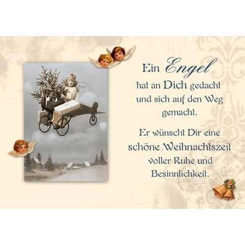 Postkarte Weihnachten, DIN C6