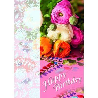 Klappkarte Geburtstag, DIN A4