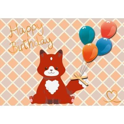 Postkarte Geburtstag, DIN C6
