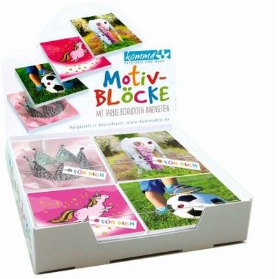 Notizblock, 4 x 7 Blöcke EK 0,95 Euro, Block 10 cm x 10 cm