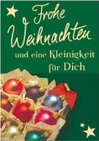 Klappkarte Weihnachten, Mini 5,5 x 7,5