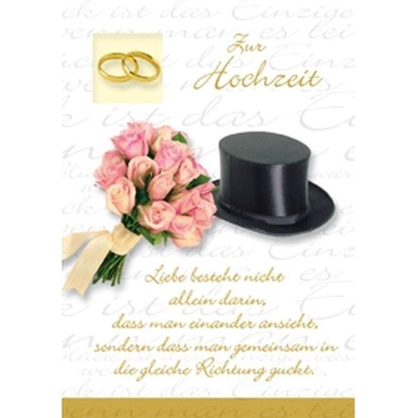 Klappkarte Hochzeit, DIN C6