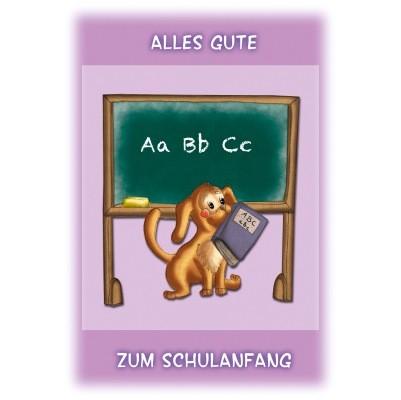 Klappkarte Schulanfang, DIN C6