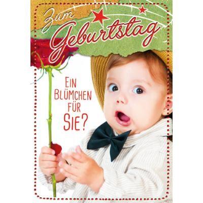 Klappkarte Kindergeburtstag, DIN C6
